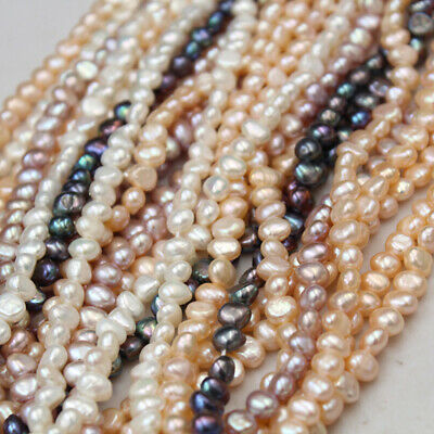 4-9mm Baroque Pearls Natural Freshwater Pearl Loose Beads Jewelry DIY Wholesale