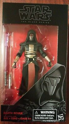 "Star Wars Black Series 6"" Inch Darth Revan Action Figure NIB #34"