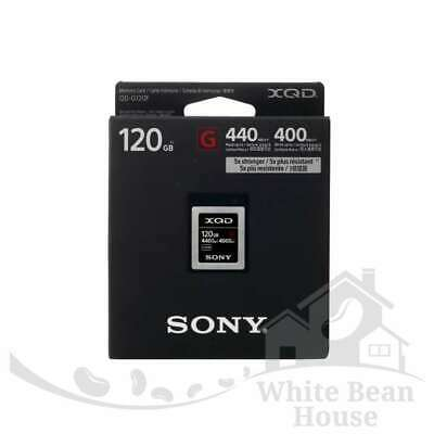 SALE Sony 120GB XQD G Series Memory Card (QD-G120F)