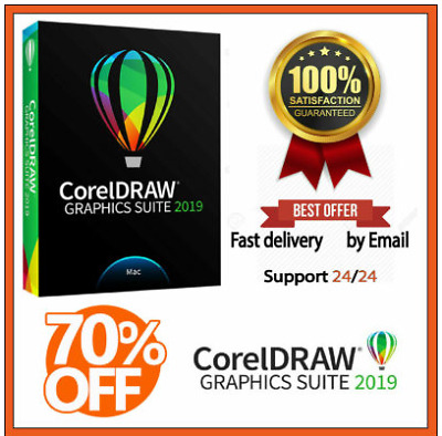 CorelDRAW Graphics suite 2019, Instant Delivery + Lifetime activited, Guaranteed