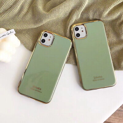 Shockproof Plating Bumper Soft Case Cover For iPhone 11 Pro Max XS XR 8 7 Plus 6