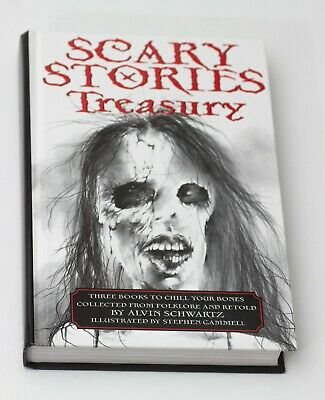 SCARY STORIES TO TELL IN THE DARK TREASURY 3-in-1 HC book by Alvin Schwartz