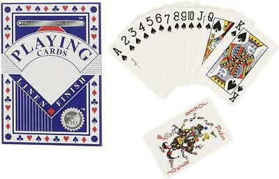 HTI Toys Traditional Games Premium Linen Playing Card Game Set