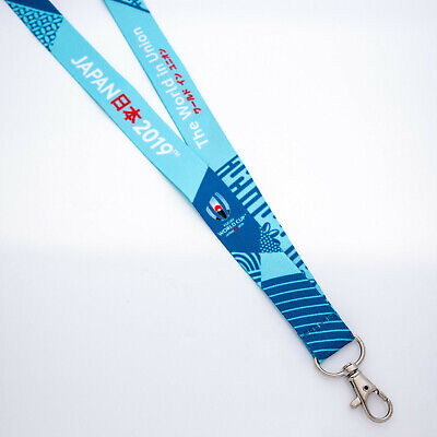 NEW Official Rugby World Cup Japan 2019 RWC2019 Logo Lanyard Keychain Neck Strap