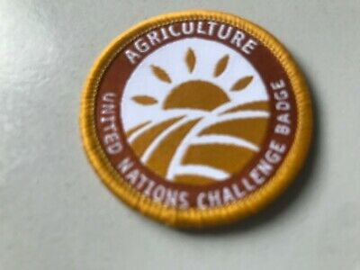Girl Guides / Scouts WAGGGS UN Agriculture