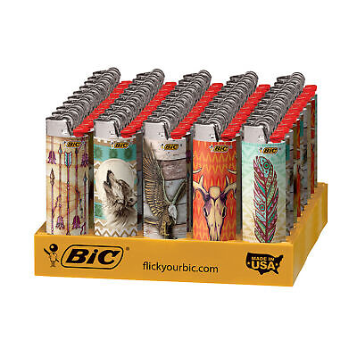 BIC Special Edition Southwestern Series Lighters, 50-Count Tray