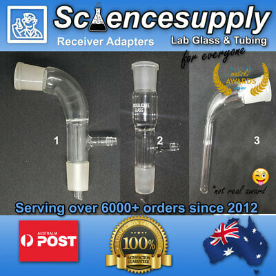 Receiver Adapter Vacuum 24/29 14/23 chemistry glassware science