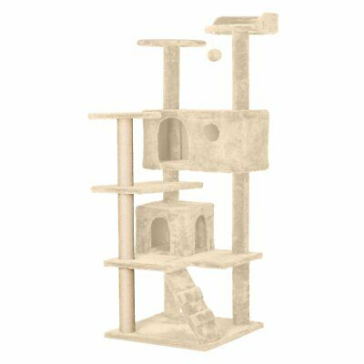 Pet Cat Tree Scratching Post Scratcher Trees Pole Gym Condo Furniture Gifts