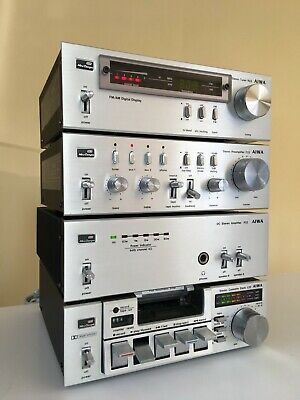 Aiwa System 22 With Interconnects, Manuals & Rack Handles – Excellent Condition