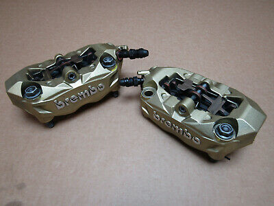 Aprilia Tuono V4 1100 2015 front brake calipers, pair, Brembo (3431)