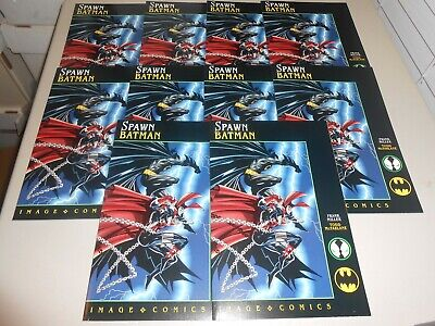 Lot of 20 1994 Spawn Batman Comics Todd McFarlane Frank Miller Image DC Comics