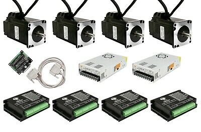 4Axis NEMA23 23SSM2440 Closed-Loop Stepper motor 2.9N.M 4A 1000 encoder&Driver