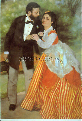 Alfred Sisley By Renoir Artist Painting Reproduction Handmade Canvas Repro Wall