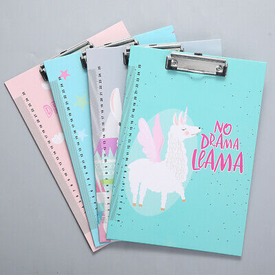A4 Clipboard With scale Flamingo Macaron unicorn series Clip Board Clipboards