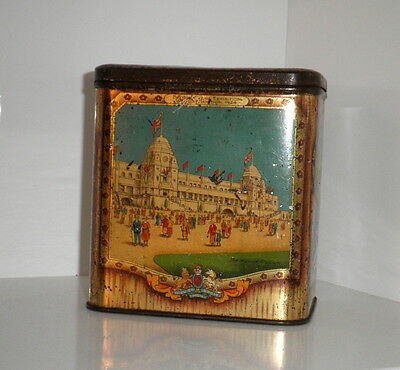 Rare Vint 1924 Brit Empire Exhibition Wembley London Prince Wales Tin-Aust/Nz+