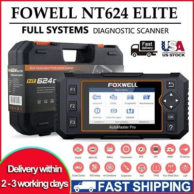 FOXWELL OBD2 Full System Diagnostic Scanner Tool ABS SRS Oil Reset Code Reader