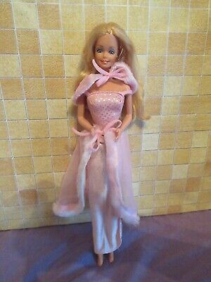 vintage 80s barbie doll in pink & pretty part outfit GREAT l@@k 1981 era clothes