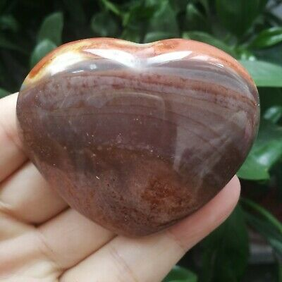 153.6g Natural Energy Stone Sea Stone Ancient Rock Specimen Heart-shaped