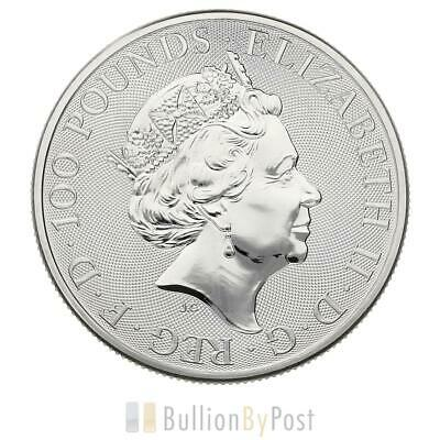 1oz Platinum Coin, Black Bull of Clarence - Queen's Beast 2019 Gift Boxed