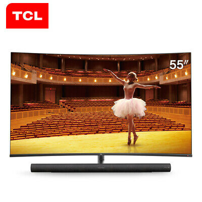 TCL 55C7 4K Ultra HD Smart Surface TV wifi 136% High Color Domain Audio