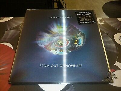 Jeff Lynne's Elo - From Out Of Nowhere Gold Lp Mint + Free Uk P&P (Pre-Order)