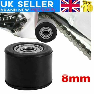8mm//10mm Chain Roller Pulley Guide Tensioner Idler Cycling Accessory Tool Parts