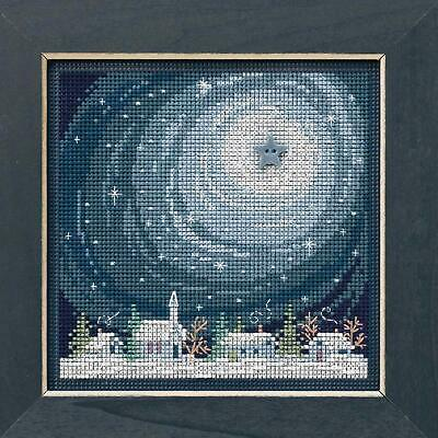 10/% Off Mill Hill Winter Series Counted X-stitch//Bead Kit Winter Welcome