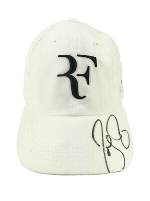 Signed Roger Federer Cap - Authentic Tennis Autograph +COA