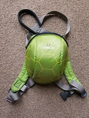 Tortoise Little Life Backpack With Reins