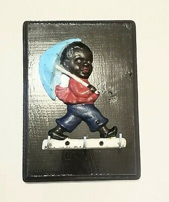 Black art, jim crow era, antique art, key chain holder