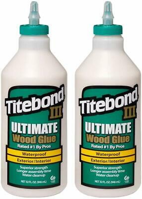 Colle à Bois Titebond III Ultimate 2 X 946 ML