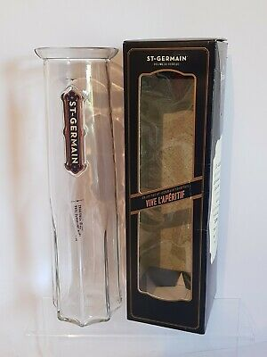 St Germain French Heavy Glass Carafe - Cocktail Carafe - 1 Litre - Boxed