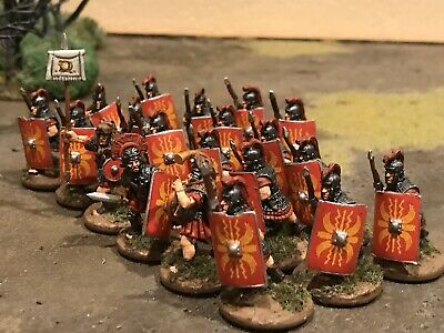 25mm 28mm Painted Ancient Imperial Roman Army SAGA, SPQR, Lion Rampant, Foundry
