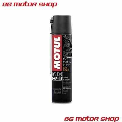 Spray Catena Motul C3 Chain Lube Off Road - 400 Ml