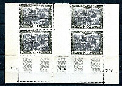 France - Poste Aerienne N° 29, 4Timbres Neufs **Avec Coin Date20/12/1949