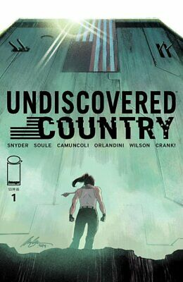UNDISCOVERED COUNTRY #1 Comics Conspiracy Exclusive Variant Rafael Albuquerque