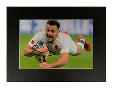 Signed Danny Care Photo Display - England Rugby Autograph +COA