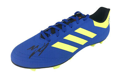 Signed Wes Morgan Football Boot - Leicester City Autograph +COA