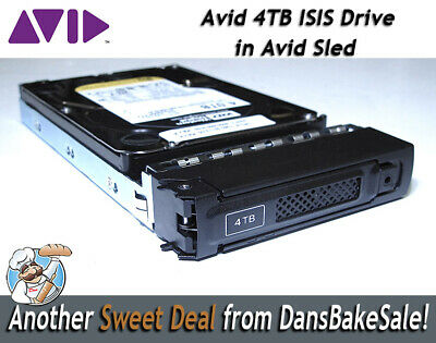 Avid ISIS 4TB WD Spare Drive for use with Avid Isis Shared Storage