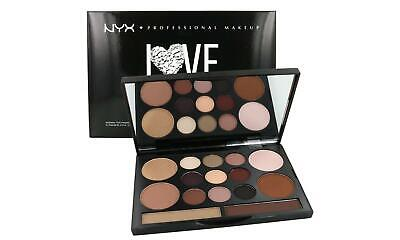 New NYX LOVE CONTOURS All EYE and FACE SCULPTING PALETTE