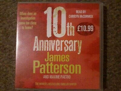 James Patterson 10th Anniversary Audiobook CD
