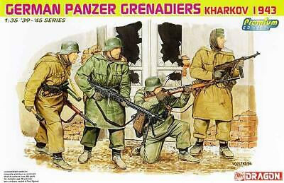 1/35 Dragon Premium German Panzer Grenadiers KHARKOV 1943