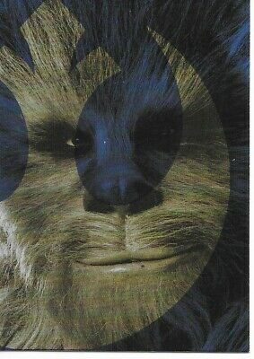2019 Star Wars Journey to Rise of Skywalker Foil Character Card Chewbacca