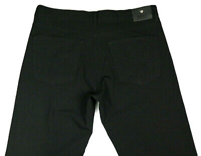 Men's Versace Jeans Couture Black Stretch Trousers Jeans W35 L36