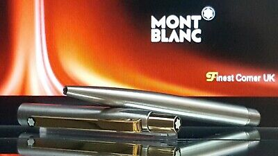 Mont Blanc Ballpoint Pen Noblesse Model Functional Rare Silver Gold VG Con X85