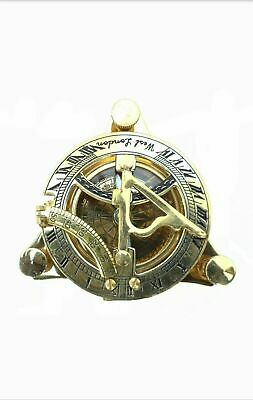 Halloween Maritime Brass Sundial Compass Nautical Sailor Magnetic Marine 2PCS