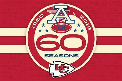 2019 KANSAS CITY CHIEFS KINGDOM FLAG new in package60th season(red friday)
