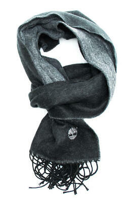 SCIARPA Timberland double color scarf 160x27 BLACK MN702.PL001