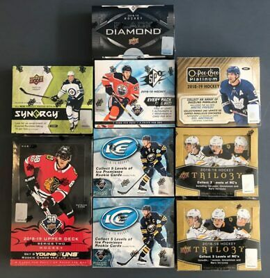 1 Hockey Booster Factory Sealed Random All Sets 2000 - 2019 Nhl    1 Pack