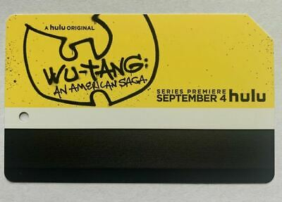 Hulu's Wu-tang Metrocard - MINT Cond. and Expired *Collectible Item* No Value